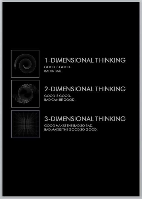 3 DIMENSIONAL THINKING