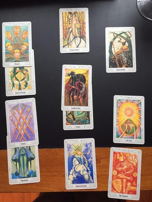 The Door-Tarot Card Layout