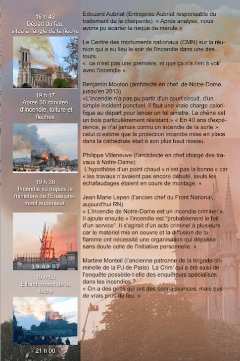 """""""Notre Dame  , L'enquete impossible"""" Broché par 5"""