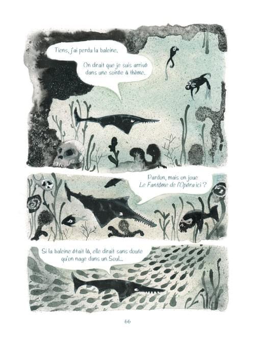"""Le Fantôme de l'opéra, page 38 de """"l'âge bleu, sauver l'océan"""""""