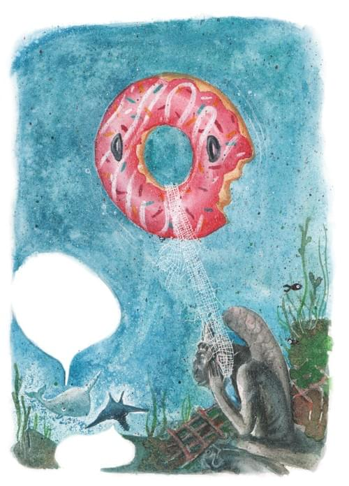 """Le Faux Jeff Koons, page 56 de """"l'âge bleu, sauver l'océan"""""""