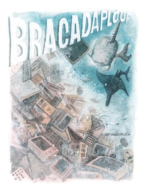 """Bracadaplouf, page 38 de """"L'âge bleu, sauver l'océan"""""""