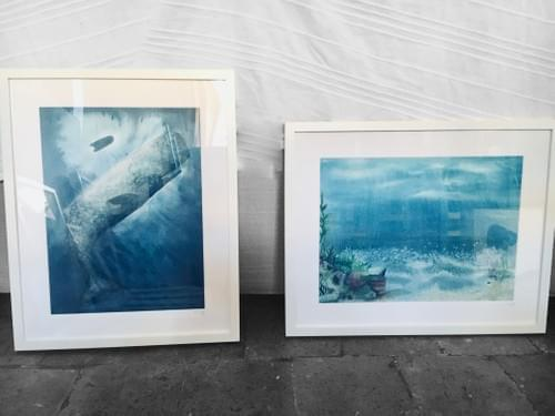"""Erika, page 52 de """"L'âge bleu sauver l'océan"""