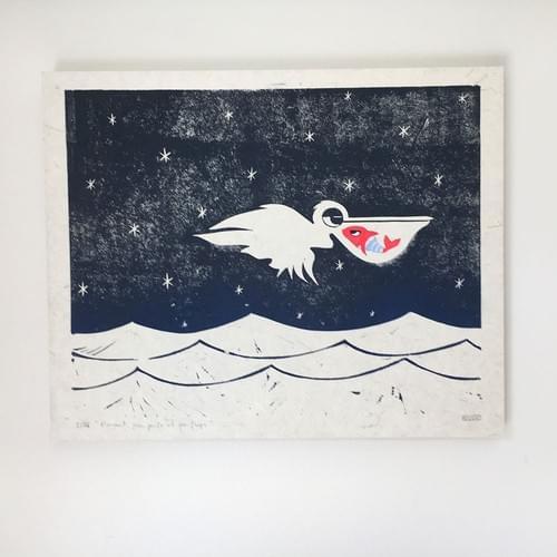 Le vol du pelican