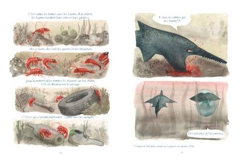 """La guerre des mondes, pages 49-49 de """"L'âge bleu, sauver l'océan"""""""