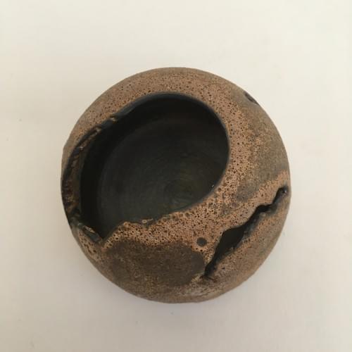 Mini sculpture vase - Orfeo and Eurydice