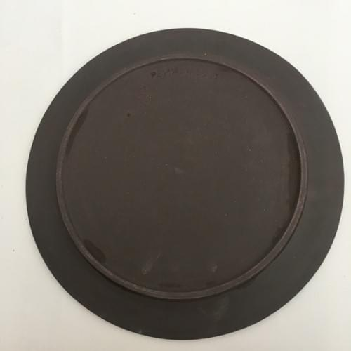 Assiette plate - Black Sunset