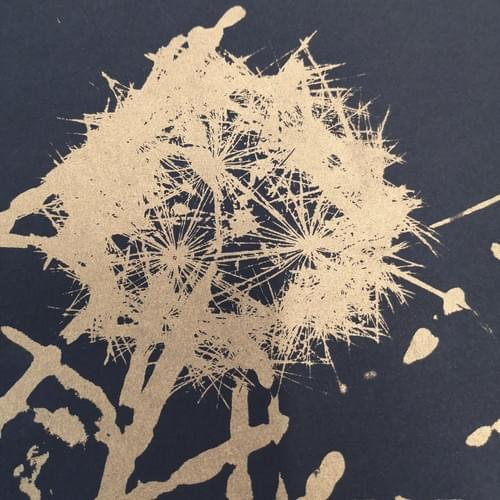 Dandelion - Gold (unframed)