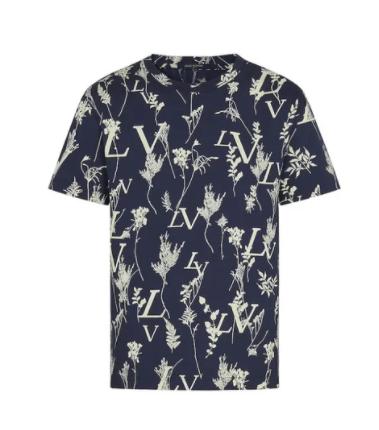LOUIS VUITTON leaf a impression rongeante t-shirt