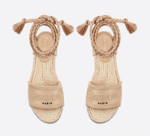 Dior Sandale à lacets