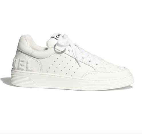 CHANEL Sneakers Calfskin