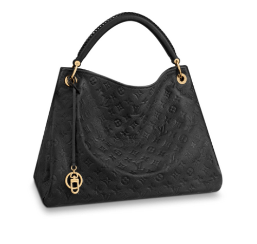 LOUIS VUITTON ARTSY MM BLACK