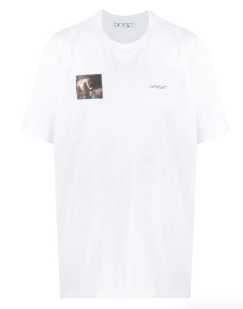 OFF-WHITE Caravaggio Angel crew-neck T-shirt
