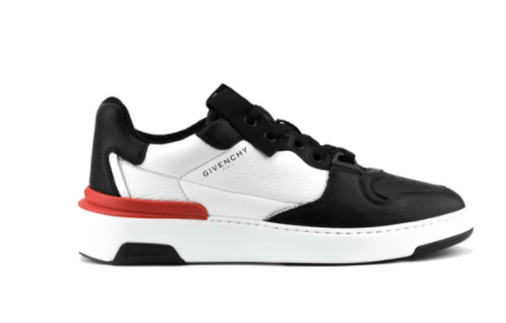 GIVENCHY Two Toned Wing Low top Sneakers