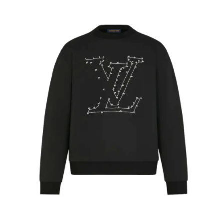 LV Sweater Stitch Print
