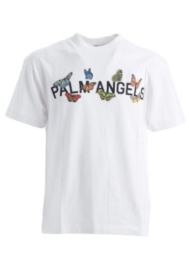 PALM ANGELS T-SHIRT PAPILLION