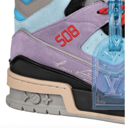Louis Vuitton Trainer Sneaker Boot