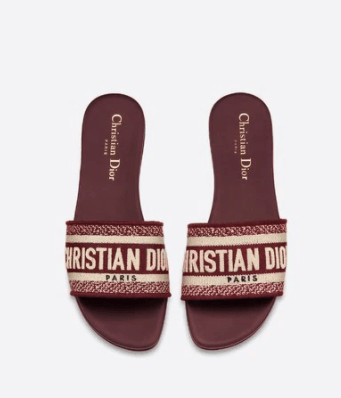 DWAY SLIDE BORDEAUX DIOR