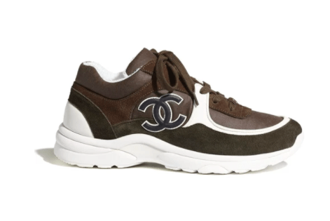 CHANEL Sneakers brown