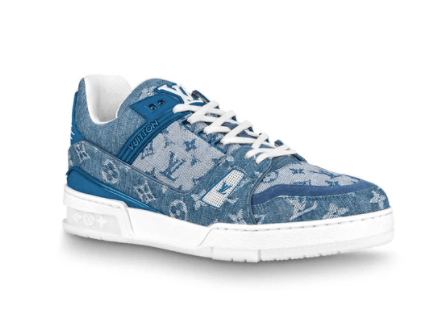 LOUIS VUITTON Trainer Sneakers Blue