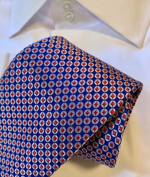 BACK IN STOCK - Britannia Geometric Tie