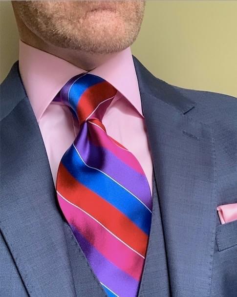 NEW - TNT Striped Tie