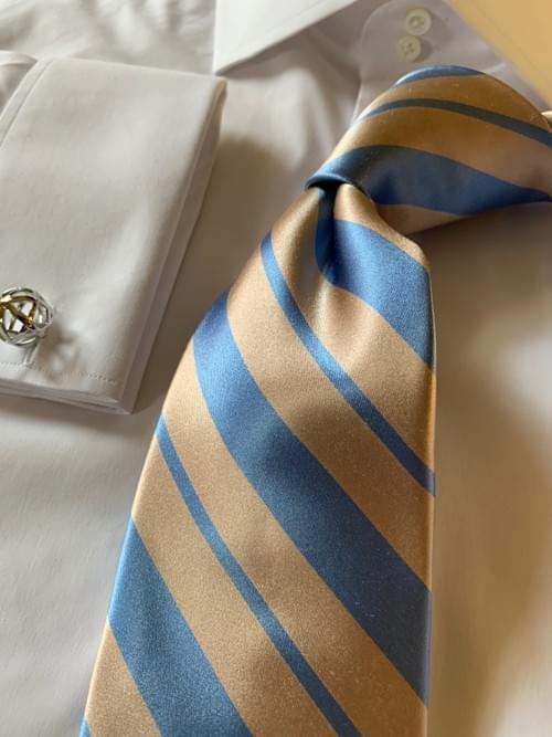 Sand And Surf Satin Striped Tie