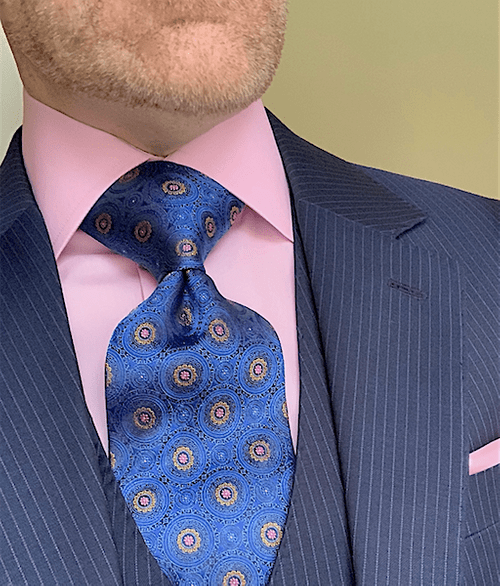 NEW - Blue Sunshine Kaleidoscope Tie