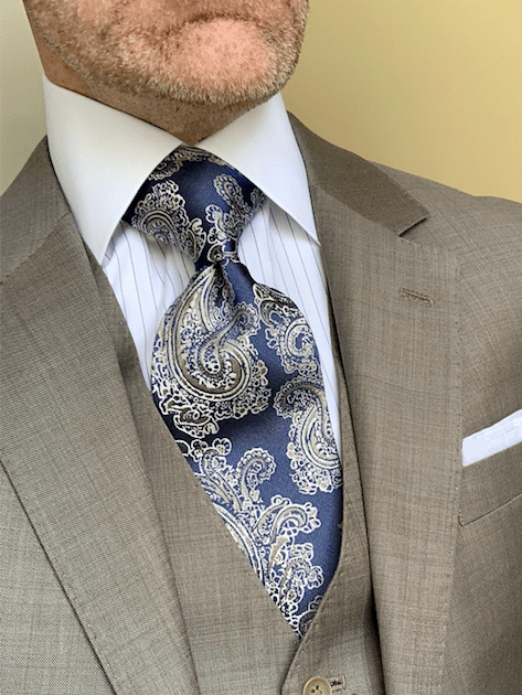 Summer Lake Wheat Paisley Tie