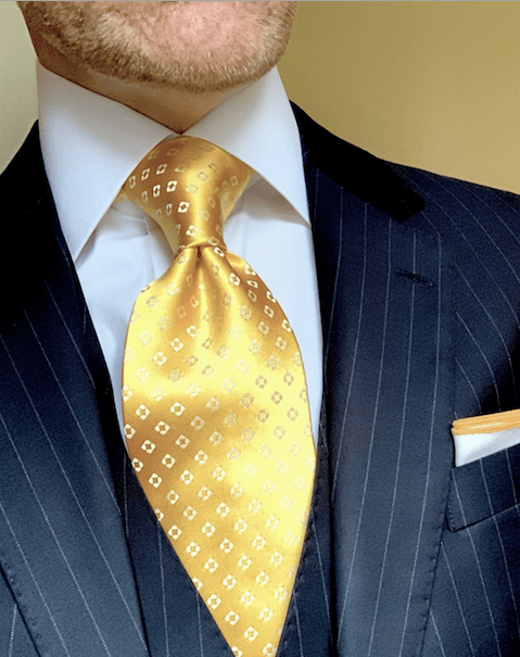 Sunny Shine Diamond Dots Tie