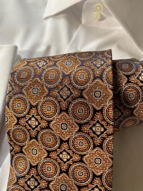 Sienna Black Tapestry Tie