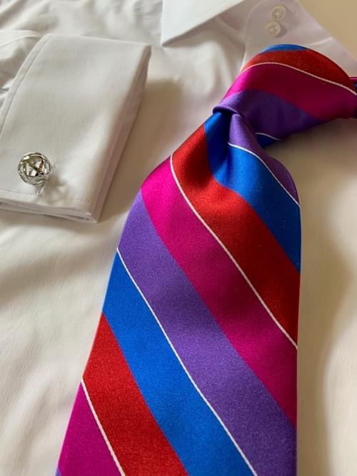TNT Striped Tie