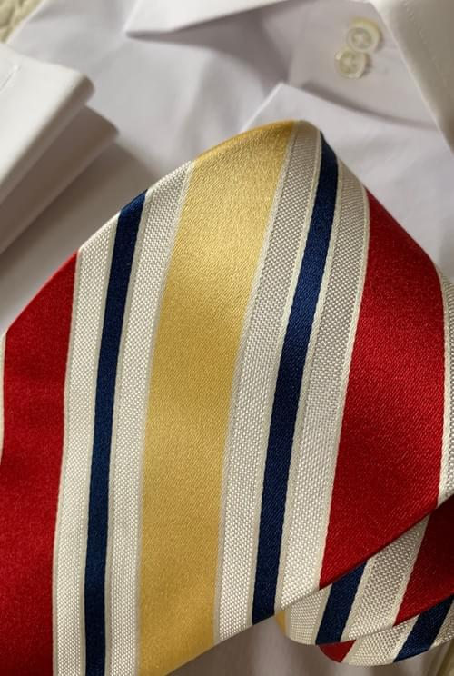NEW - Primary Power Stripes Tie