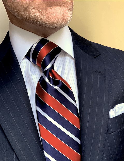 BACK IN STOCK - The Candidate Victory Striped Tie