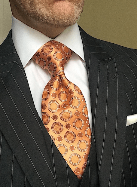 CLEARANCE: Sienna Satin Medallion Tie
