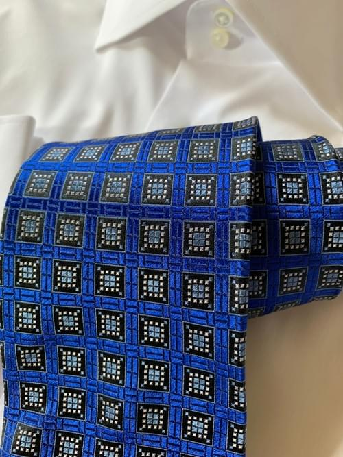 NEW - Royal Blue Window Tile Tie