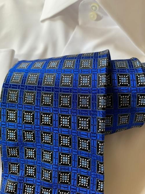 Royal Blue Window Tile Tie