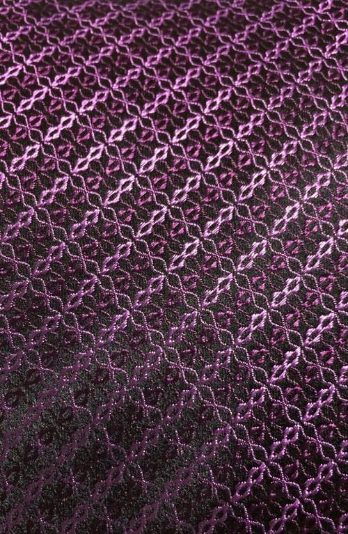 CLEARANCE: Pink Purple Woven Design Tie