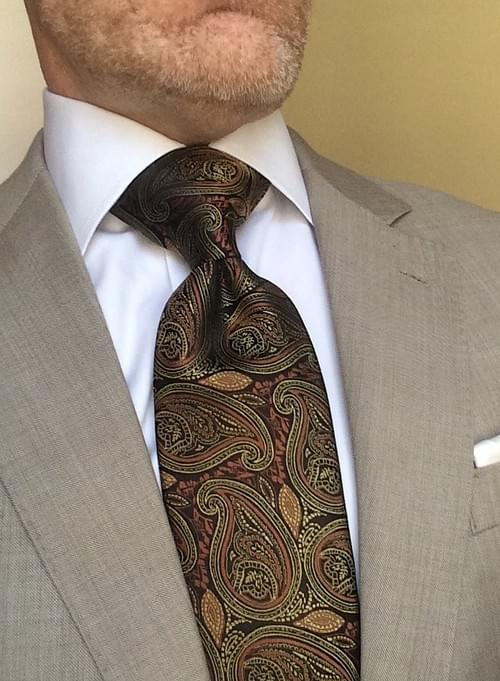 CLEARANCE: Autumn Harvest Paisley Tie