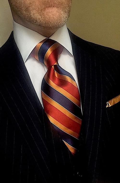 CLEARANCE:  Beach Summer Sun Striped Tie