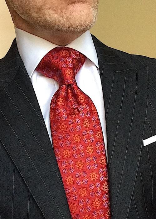 CLEARANCE: Solar Ice Medallion Tie