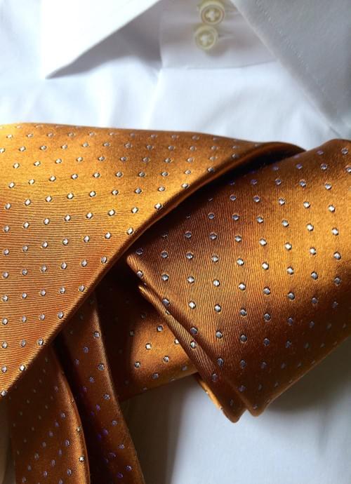 Sienna Micro-Dot Tie