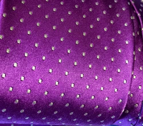 CLEARANCE: Purple Micro-Dot Tie