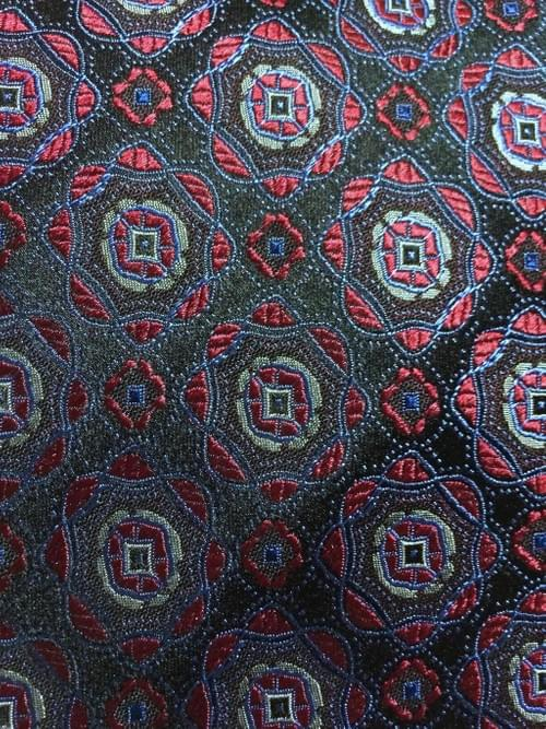 CLEARANCE: Red Medallion Tie