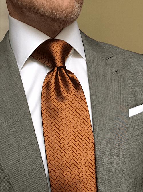 Sienna Herringbone Tile Tie