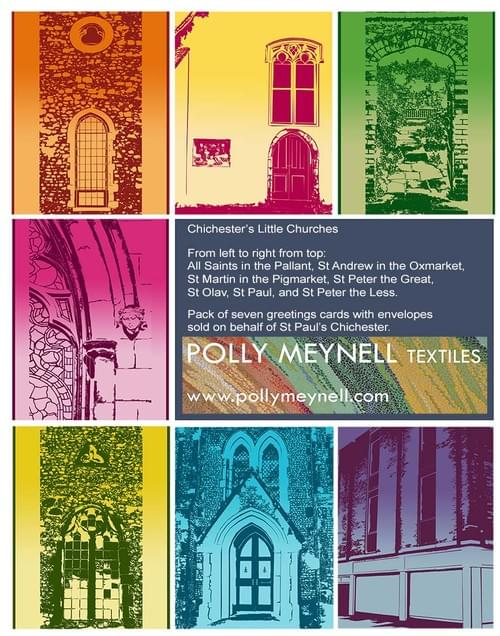 Chichester's Little Churches cards