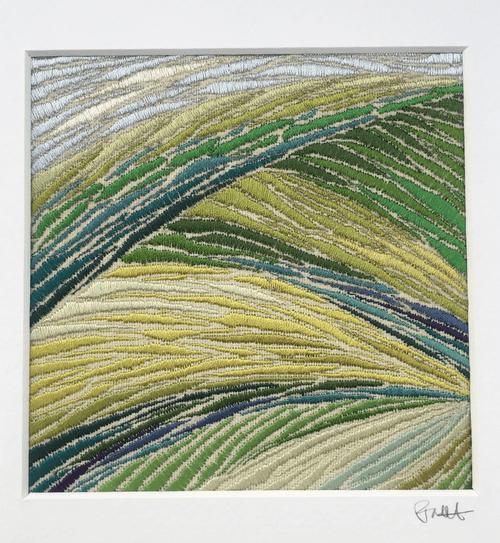'Folded hills'