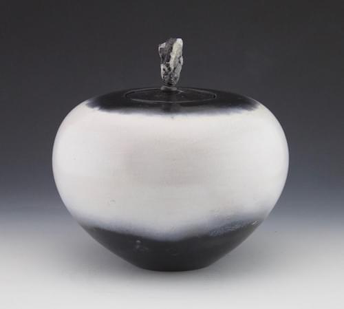 Glacial Seed pot