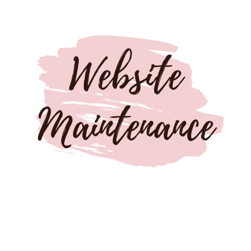 Website Maintenance - Minor Website Edits