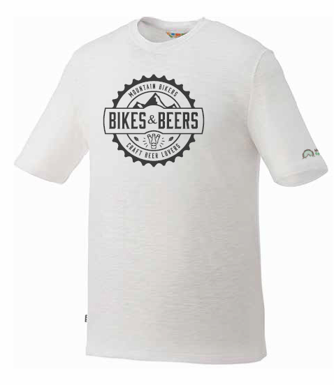 Bikes and Beers Premium Short Sleeve Tee (white)